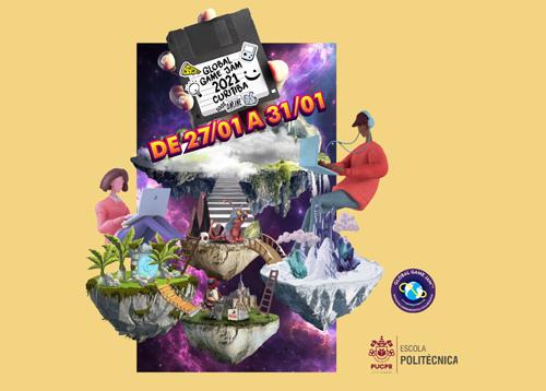 Global Game Jam Curitiba 2021 muito post